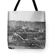 Railroad Bridge, C1860 Tote Bag