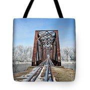 Railroad Bridge Tote Bag