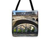 Railroad Bridges Tote Bag