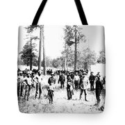 Railroad Camp, 1880s Tote Bag