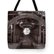 Railroad Car Inverter 1 Sepia Tote Bag