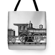 Railroad Engine, C1874 Tote Bag