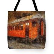 Railroad Gary Flyer Photo Art 02 Tote Bag