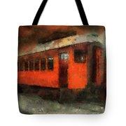Railroad Gary Flyer Photo Art 03 Tote Bag