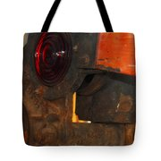 Railroad Gate Signal Tote Bag