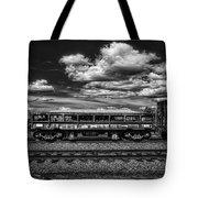 Railroad Gravel Car Tote Bag