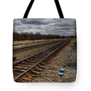 Railroad Interlocking Tote Bag