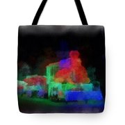 Railroad Led Train Photo Art 01 Tote Bag