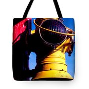 Railroad Oil Lantern Tote Bag