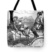 Railroad Safety, 1853 Tote Bag