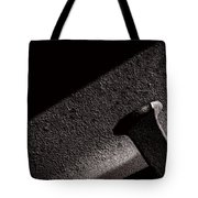 Railroad Spike And Rail Tote Bag