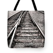 Railroad Switch Tote Bag