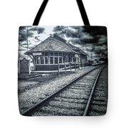 Railroad Ties Marlette Michigan Tote Bag