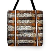 Railroad Track With Gravel 2 Tote Bag