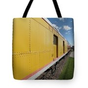 Railroad Train Tote Bag