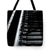 Rails And Ties Tote Bag