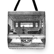 Railway Carriage, 1864 Tote Bag