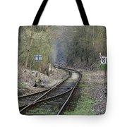 Railway Line Tote Bag