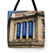 Railway Station Adelaide Tote Bag