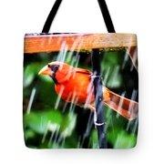 Rain Bird Tote Bag