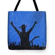Rain Can't Stop Me Tote Bag