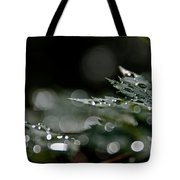 Rain Drop Bokeh Tote Bag