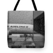 Rain Drops In Tokyo Tote Bag