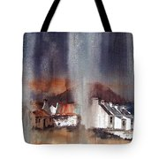 Rain Fall On Dooagh Achil Tote Bag