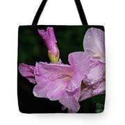 Rain Flower 1 Lavender Tote Bag