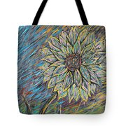 Rain Flower Tote Bag