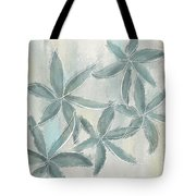 Rain Flowers Tote Bag