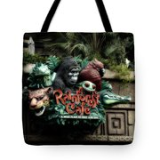 Rain Forest Cafe Signage Downtown Disneyland 03 Tote Bag