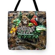 Rain Forest Cafe Signage Walt Disney World Tote Bag