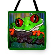 Rain Forest Frog Tote Bag