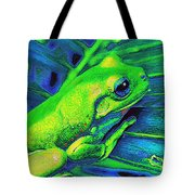 Rain Forest Tree Frog Tote Bag