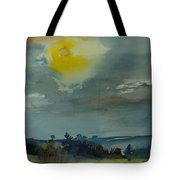 Rain In The Air, 1981 Wc On Paper Tote Bag