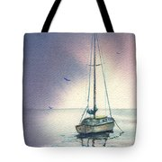 Rain Is Here Tote Bag