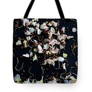 Rain Of Petals Tote Bag