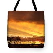 Storm At Dusk 2am-108330 Tote Bag