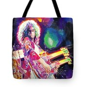 Rain Song Jimmy Page Tote Bag