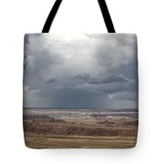 Approaching Storm The Painted Desert Arizona Tote Bag