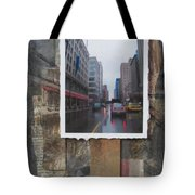 Rain Wisconcin Ave Tall View Tote Bag