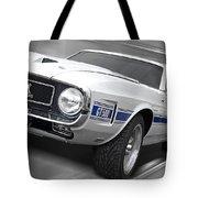 Rain Won't Spoil My Fun - 1969 Shelby Gt500 Mustang Tote Bag
