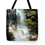 Rainbow And Falls Tote Bag