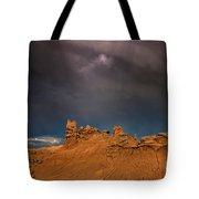 Rainbow And Sandstone Formations Fantasy Canyon Utah Tote Bag