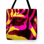 Rainbow Animals - Zebra  Tote Bag