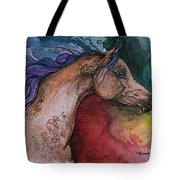 Rainbow Arabian Tote Bag