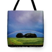 Rainbow Arch Near Worcester Tote Bag