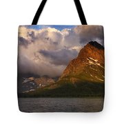 Rainbow At Sunrise - Panorama Tote Bag