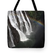 Rainbow At Victoria Falls Tote Bag